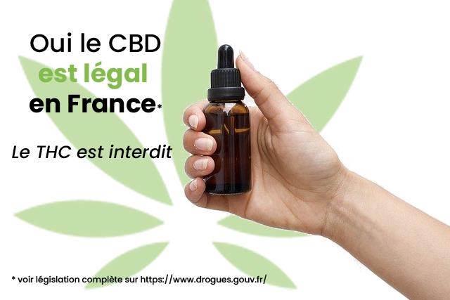 Légalité CBD