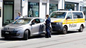Contrôle routier police